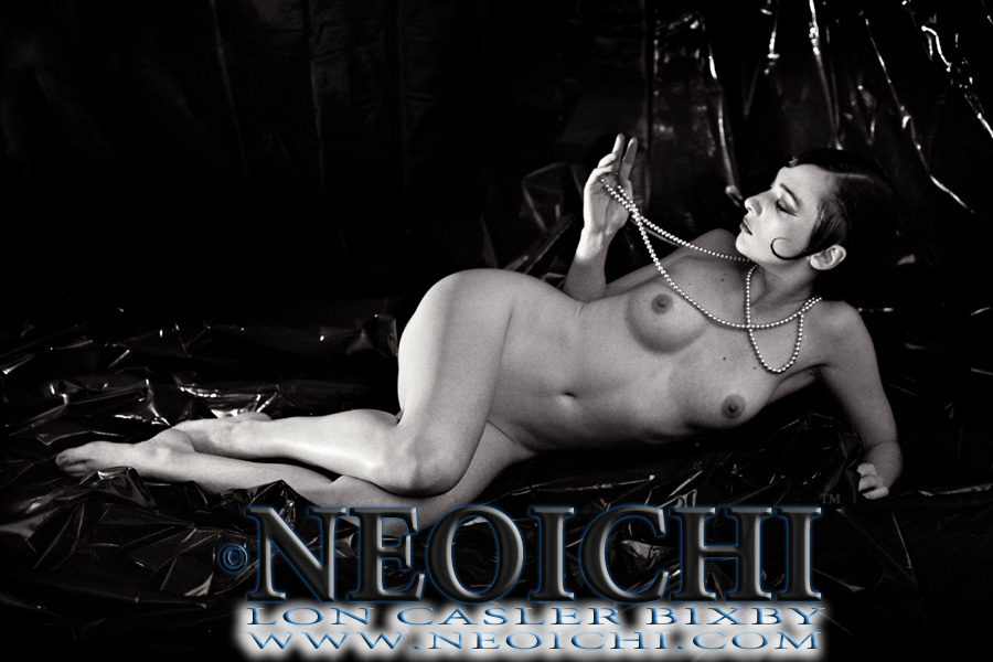 NEOICHI #125 - Tana with Pearls - Photography by Lon Casler Bixby - Copyright - All Rights Reserved - www.NEOICHI.com