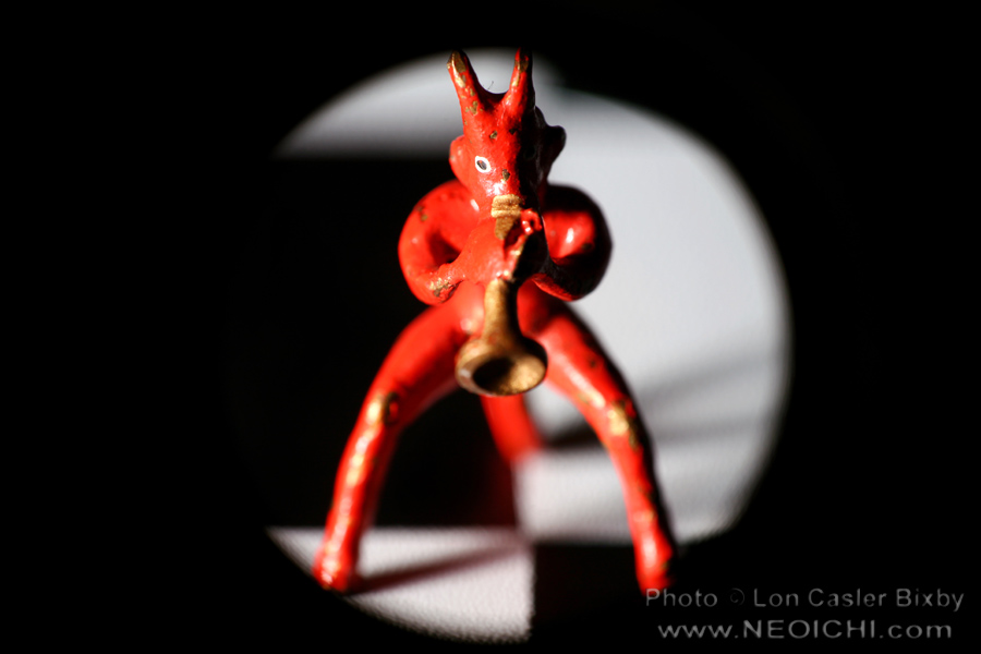 Little Devilish Sextet - Horn - Photography by Lon Casler Bixby - Copyright - All Rights Reserved - www.neoichi.com