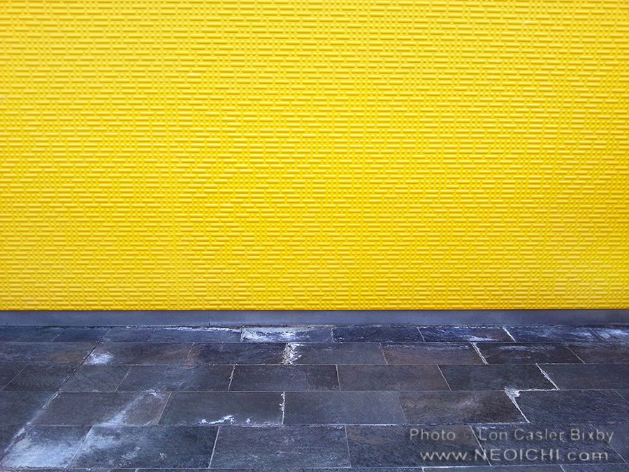 Yellow Wall - Photography by Lon Casler Bixby - Copyright - All Rights Reserved - www.neoichi.com