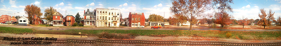 Panoramic View of America as Seen from a Passing Train - Photography by Lon Casler Bixby - Copyright - All Rights Reserved - www.neoichi.com